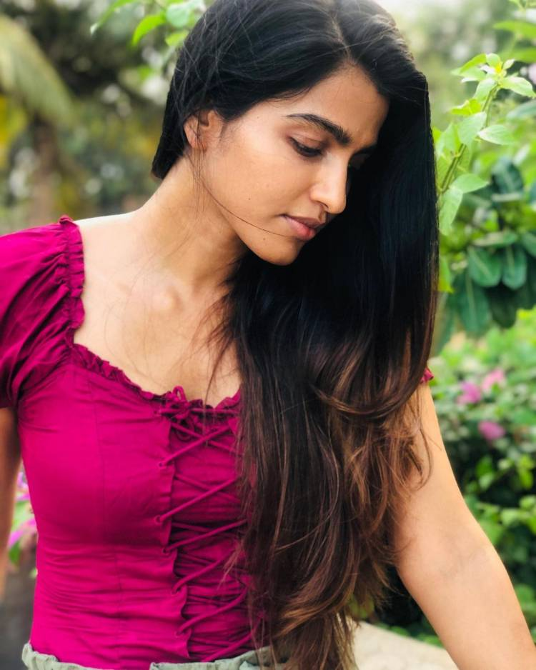 Recent clicks of Actress @SaiDhanshika in Natural Beauty personified