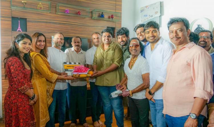Ags_production #21  Shoot Started today agscinemas KalpathiAghoram KalpathiGanesh