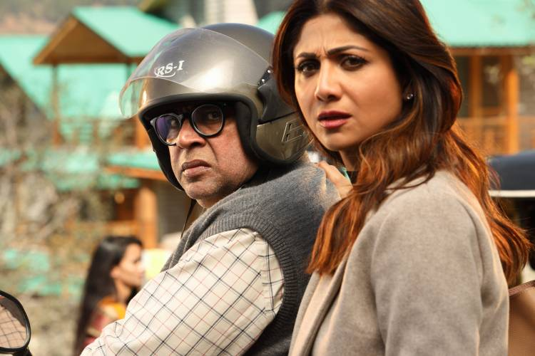 'Paresh Rawal played my father and now he's married to me in Hungama 2' says Actor Shilpa Shetty Kundra