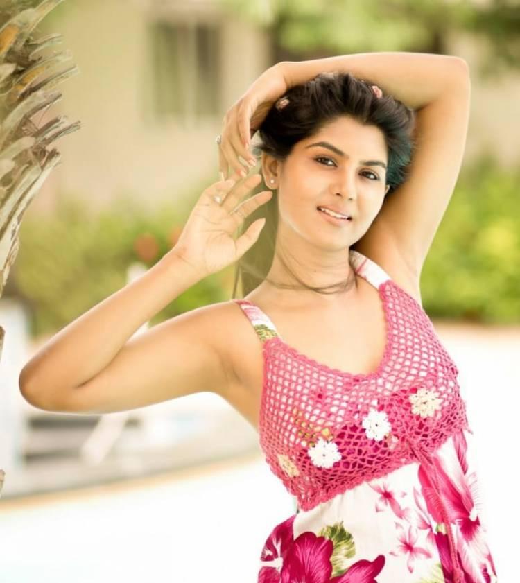 Actress #Upasana looks Astounding in the latest photoshoot stills.