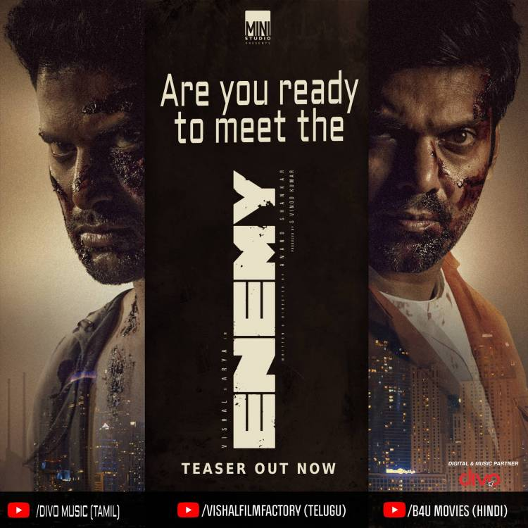 Highly anticipated #EnemyTeaser is Out Now. Get ready to witness the rage of the ENEMIES.