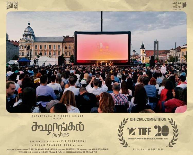 #Koozhangal will be screened in #TIFF21 tomorrow