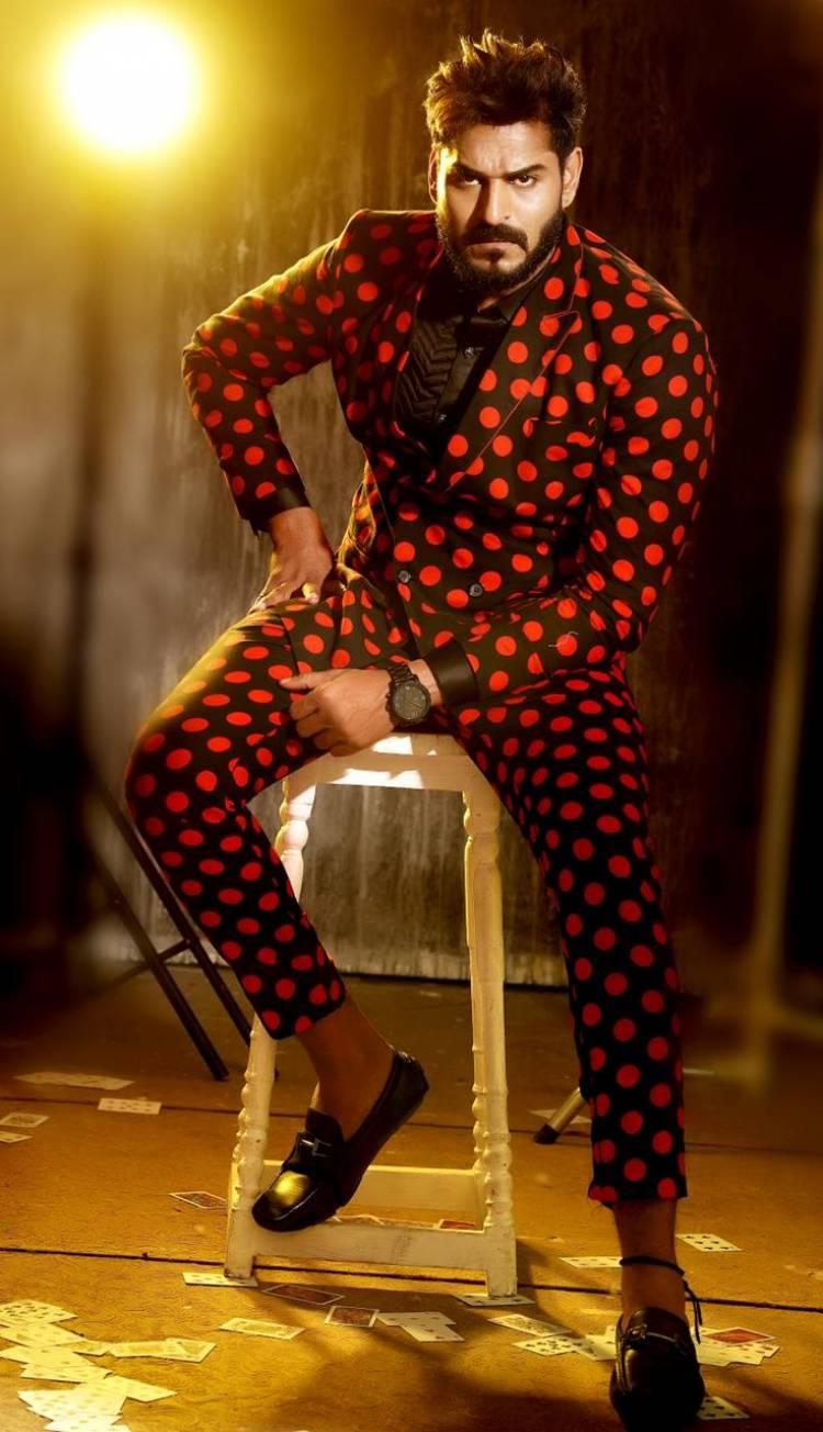 Actor Aadhav Latest Photoshoot  Pics