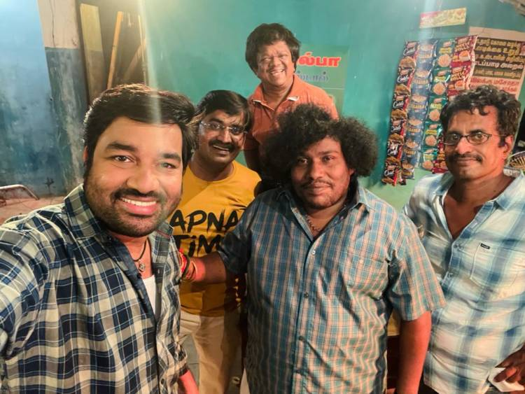 """Mirchi Shiva-Priya Anand starrer Director R. Kannan's remake of the classic comedy """"Kasethan Kadavulada shooting wraps up"""