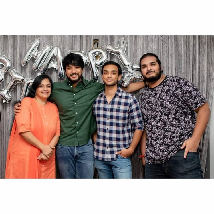 Birthday Celebration with family @Gautham_Karthik