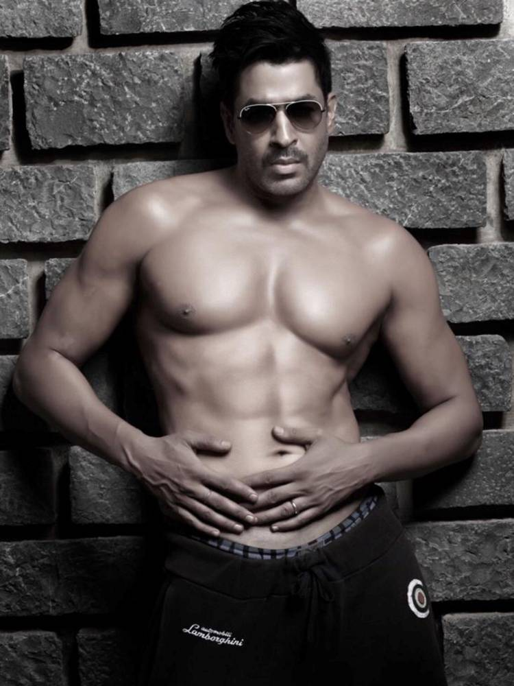 Rajat Bedi will debut as villain in Telugu blockbuster AHIMSA also marking debut of 'Bahubali' fame Rana Daggubati's brother Abhiram Daggubati & new face beautiful & gorgeous actress Geethika Tiwary